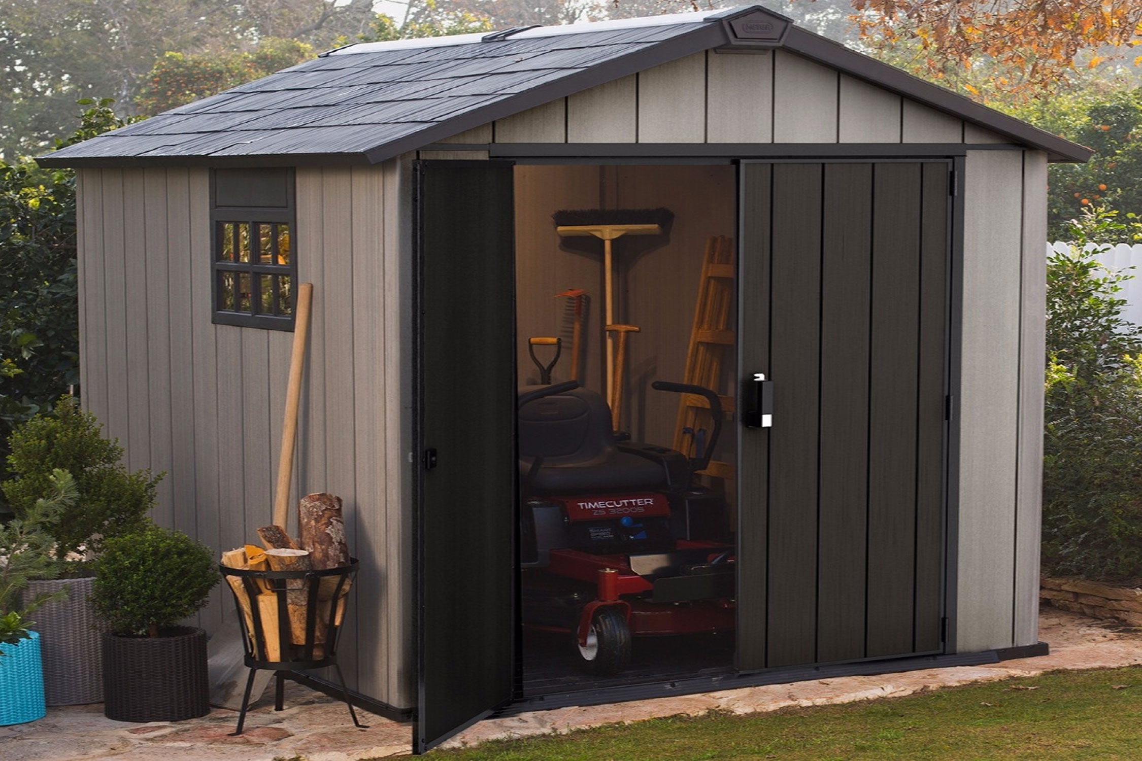 Garden Storage - Reasons to Choose Plastic Garden Shed