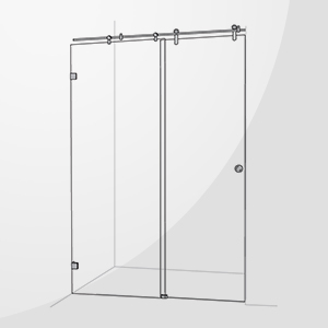 Sliding shower screens