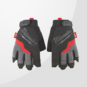 Fingerless Work Gloves