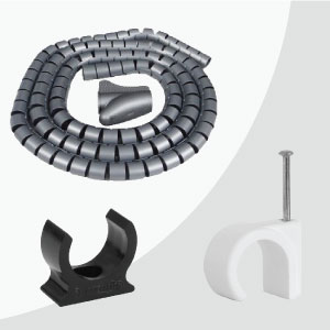 Cable Tidies, Covers & Clips