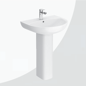 Bathroom Basin & Pedestal