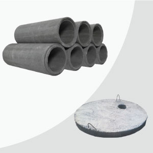 Cement Pipes & Lids