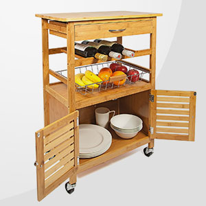 Kitchen Shelves & Trolleys