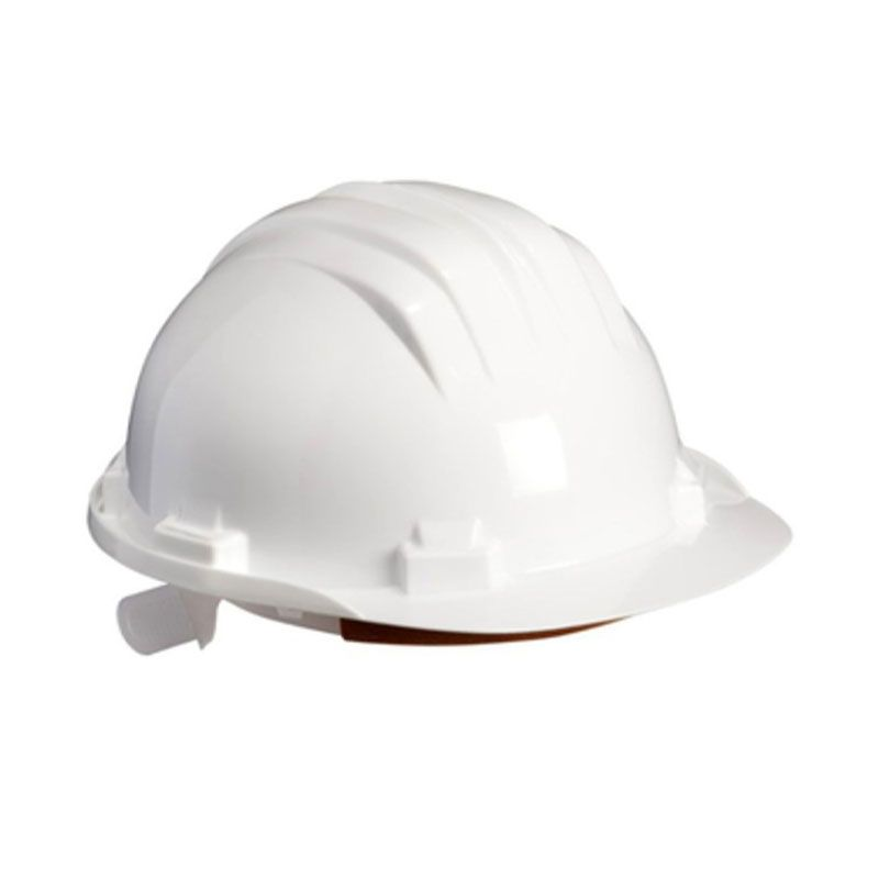 Climax 5-RS White Construction Helmet