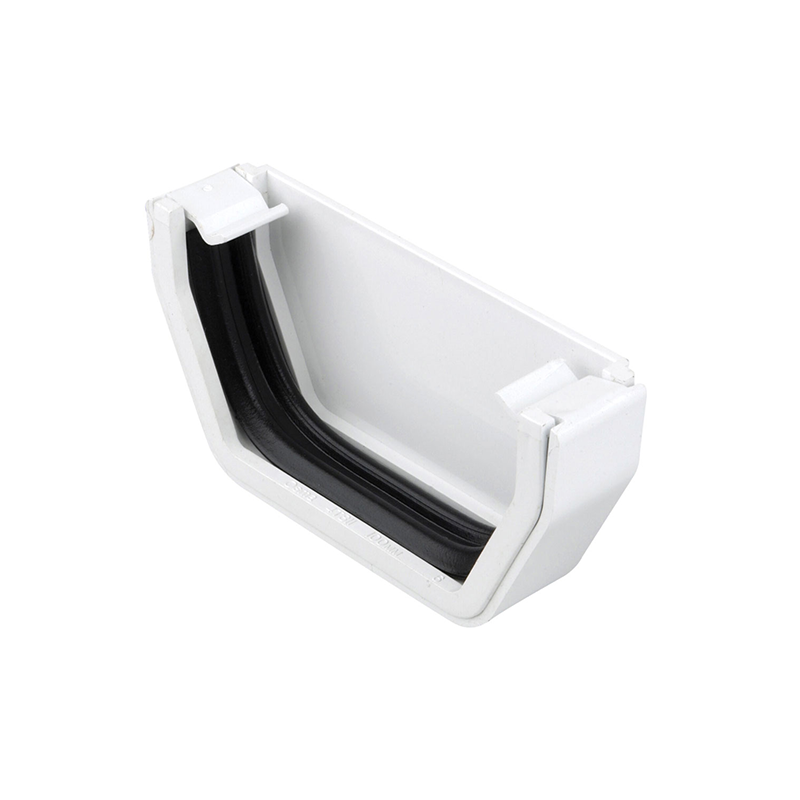 Osma 811W Stopend White Guttering