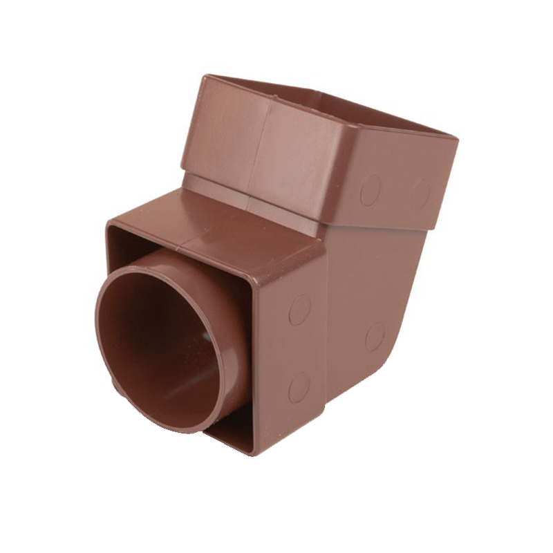 Osma 825B Offest Bend - Socket Brown Guttering