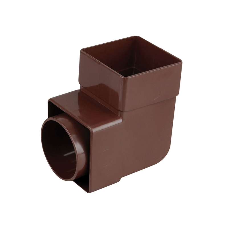 Osma 862B Bend 90° Brown Guttering