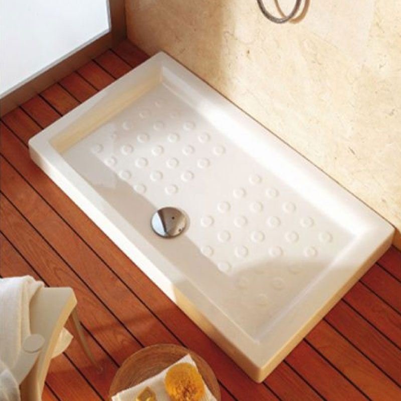 Sanitana Julieta 120x80cm White Shower Tray