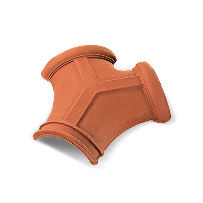 Traditional Three-Way Red Italian Roof Tile