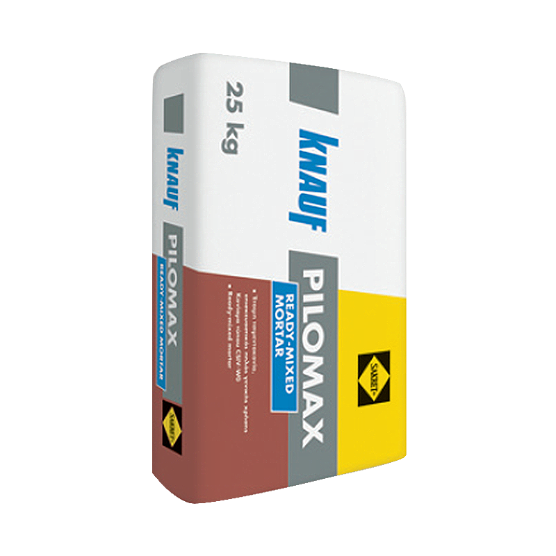 Knauf Pilomax Grey Ready Mixed Mortar