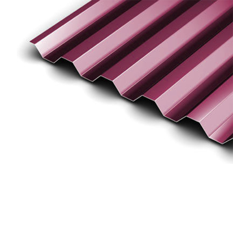 Red Corrugated Metal Roof Sheets 4.50m