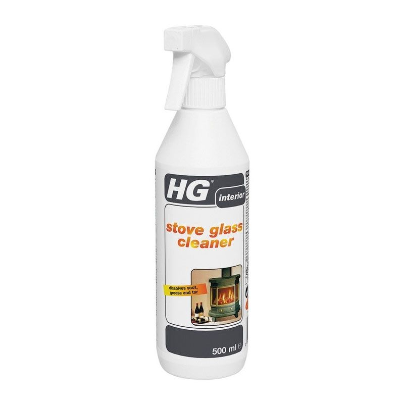 HG Fireplace & Stove Glass Cleaner 500ml