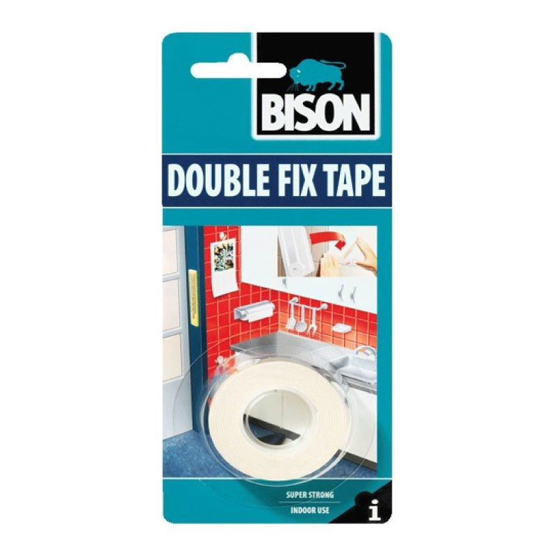 Bison 1.5mx19mm Bison 1.5m Double Repair Tape