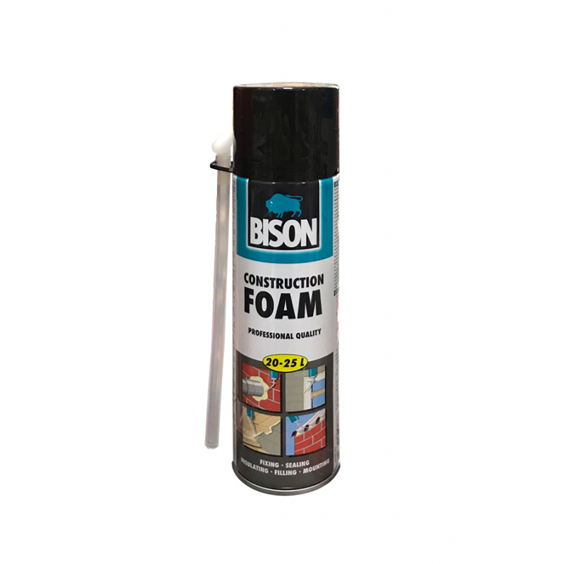 Bison PU-Foam 500ml Expanding Foam