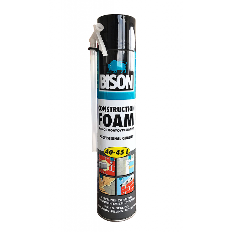 Bison PU-Foam 750ml Expanding Foam