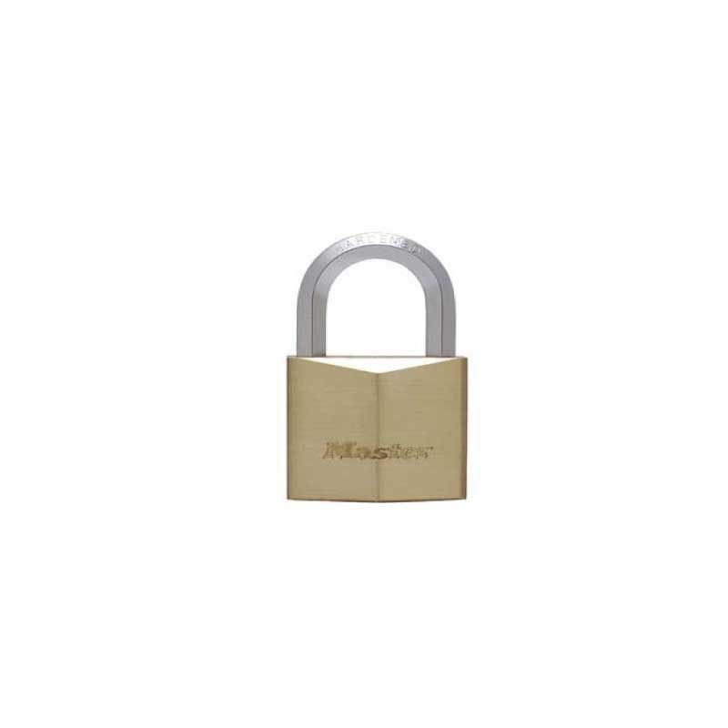 Masterlock Mas.Brass 1155D Hexagonal Padlock 50mm