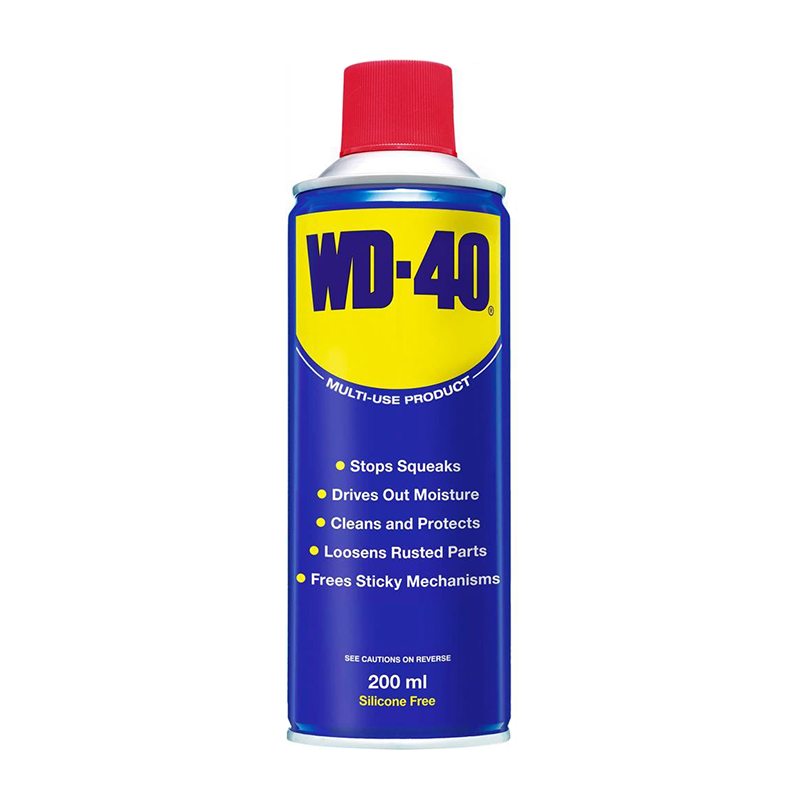 WD-40 Multi-Use Aerosol Lubricant 200ml