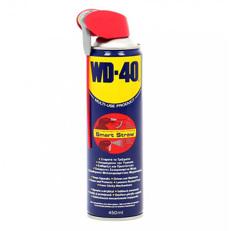WD-40 Smart Straw Aerosol Lubricant 450ml