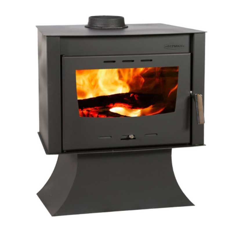 Metallic ATS 100 Black Solid Fuel Woodstove