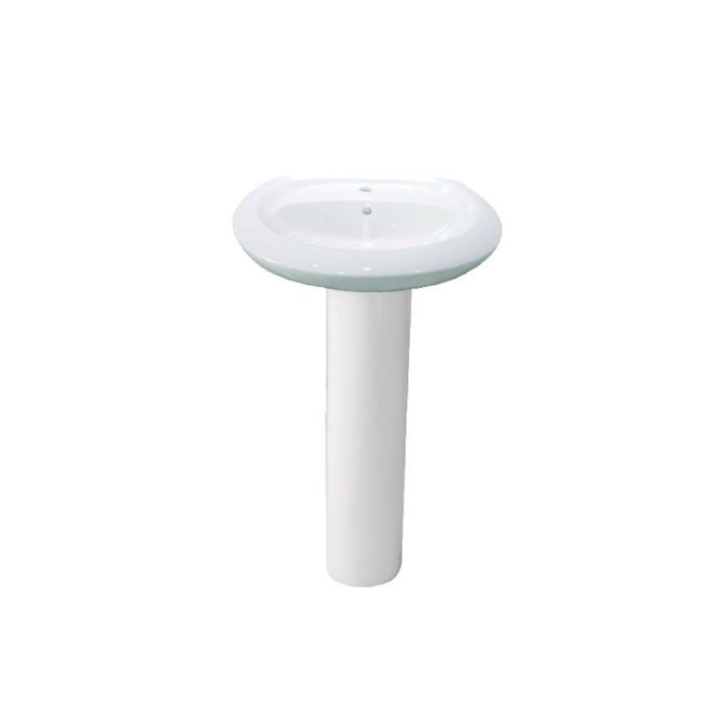 Huida HD304 Bathroom Basin & Pedestal