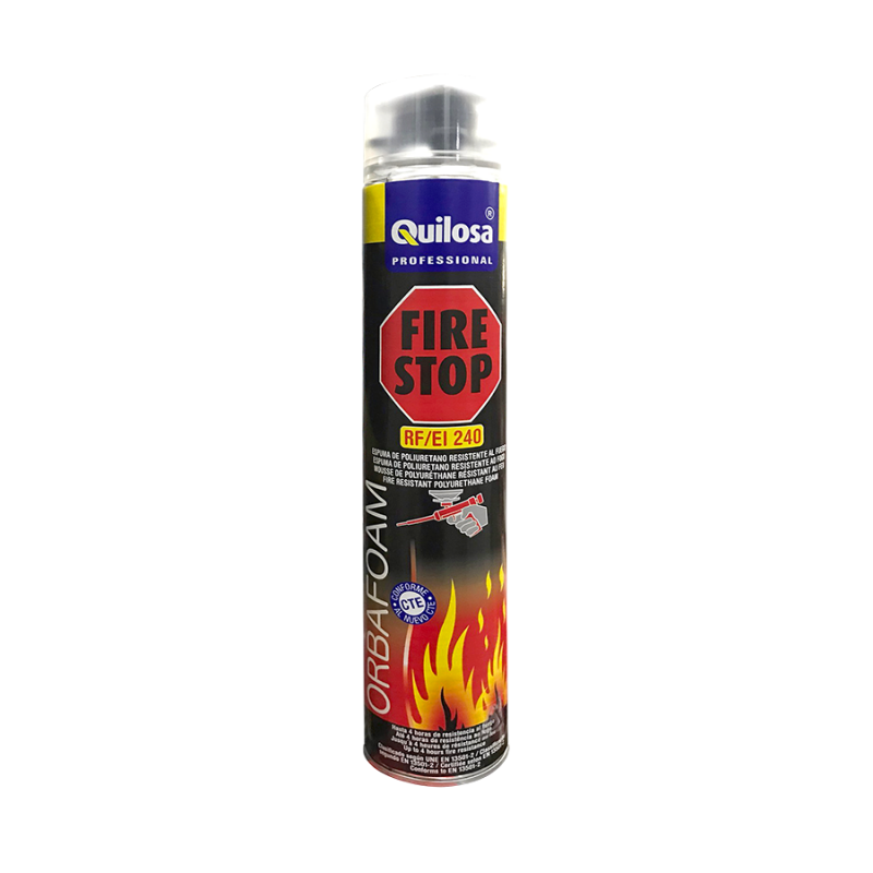Quilosa PU-Orbafoam Fire Stop 750ml Fire Rated Foam