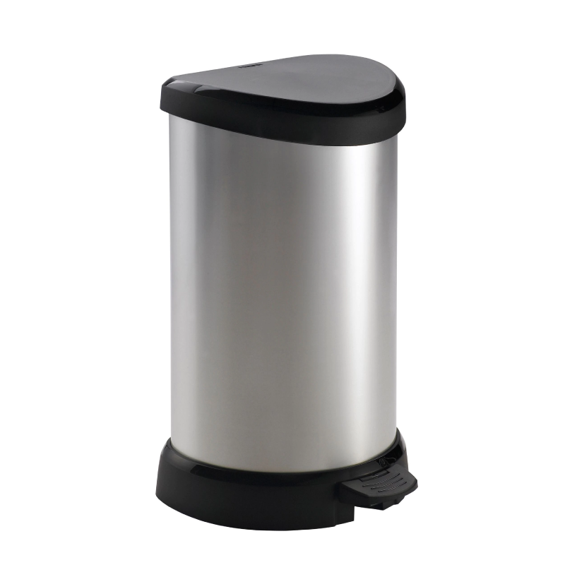 Curver 20L Metallic Kitchen Bin