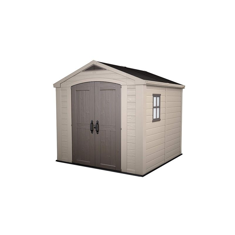 Keter Factor 8' x 8' Plastic Shed