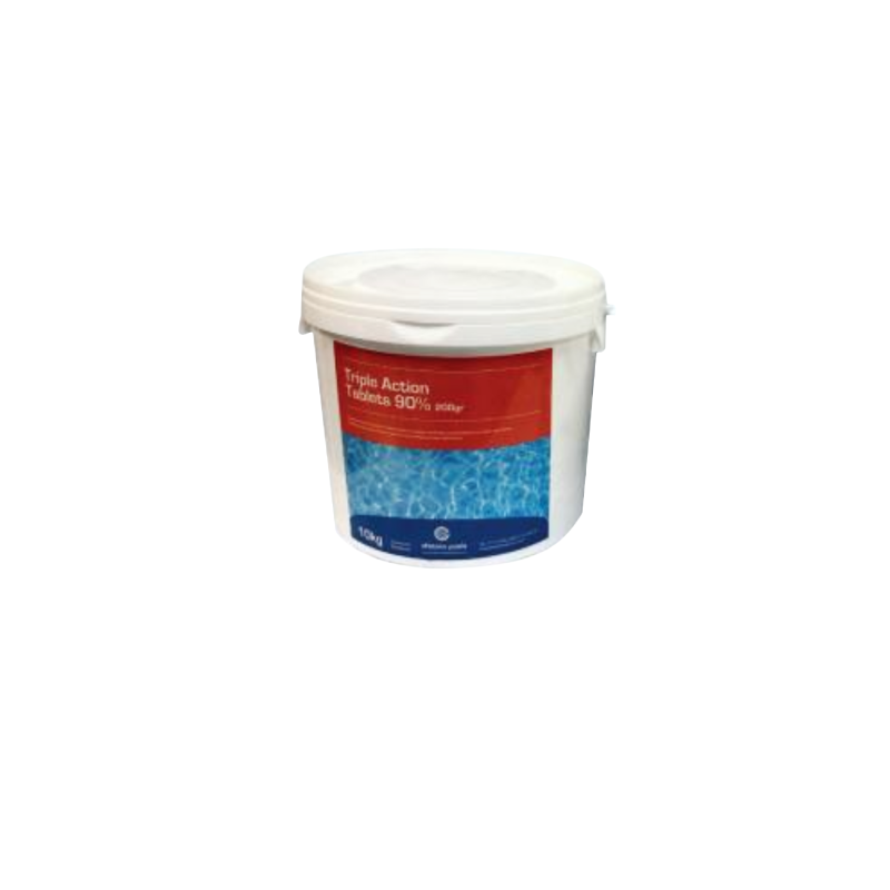 Trimple Action Tablets 90% 10kg Swimming Pool Chemicals