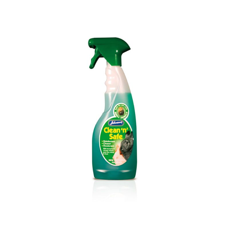 Johnsons 500ml Clean N Safe Disinfectant Pet Srpay