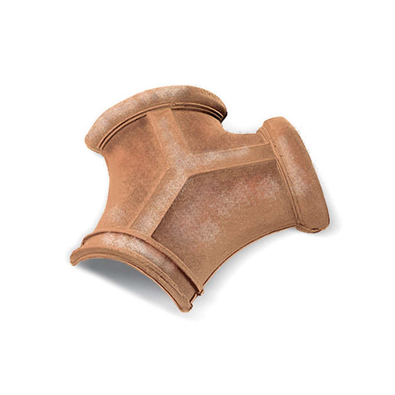 Traditional Italian Three-Way Two-Tone Roof Tile