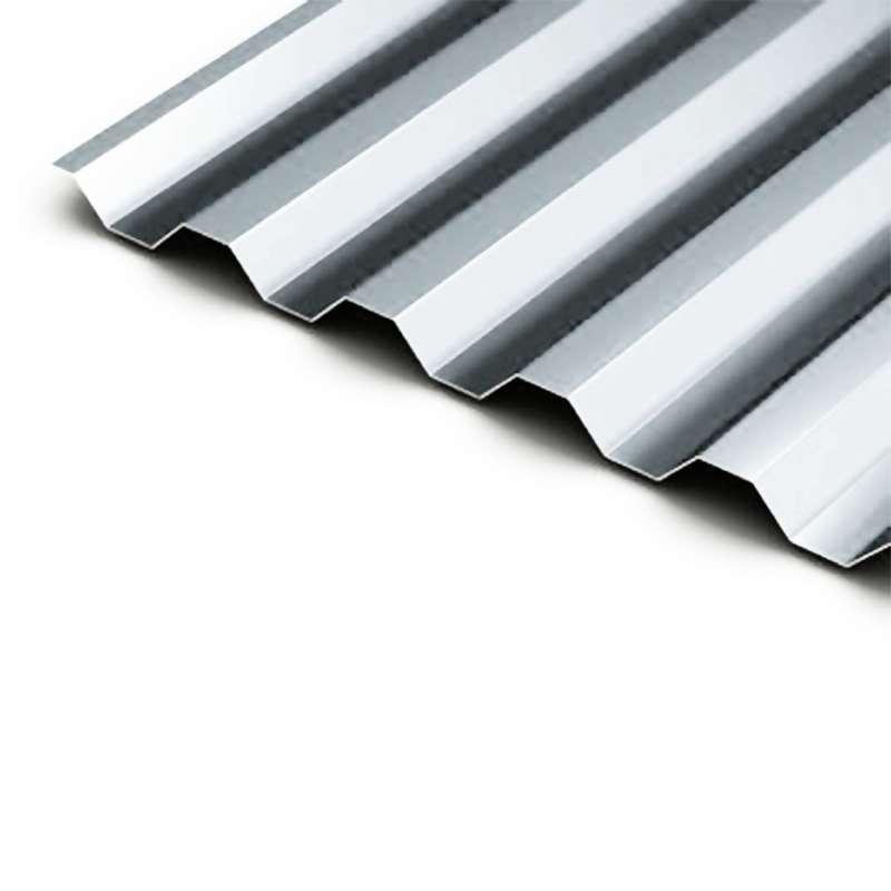 White Corrugated Metal Roof Sheets 5.5m