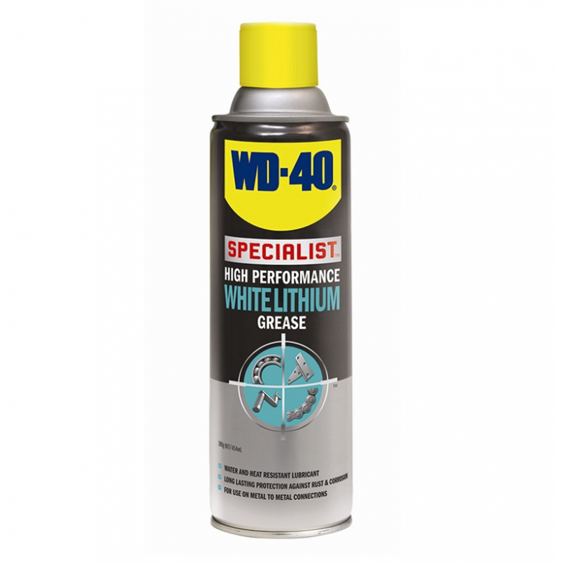 WD-40 Specialist High Performance White Lithium Grease Lubricant 400ml