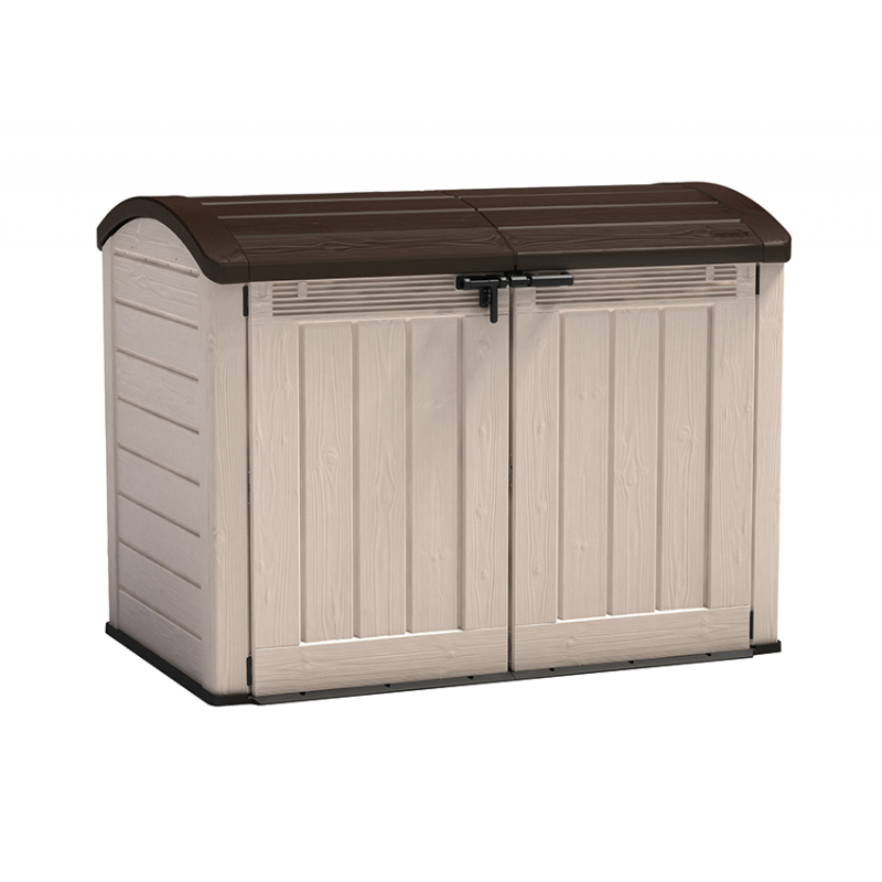 Keter Store It Out Ultra 2000L Brown Garden Plastic Storage Box