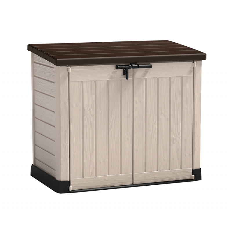 Keter Store It Out Max 1100L Brown Garden Plastic Storage Box