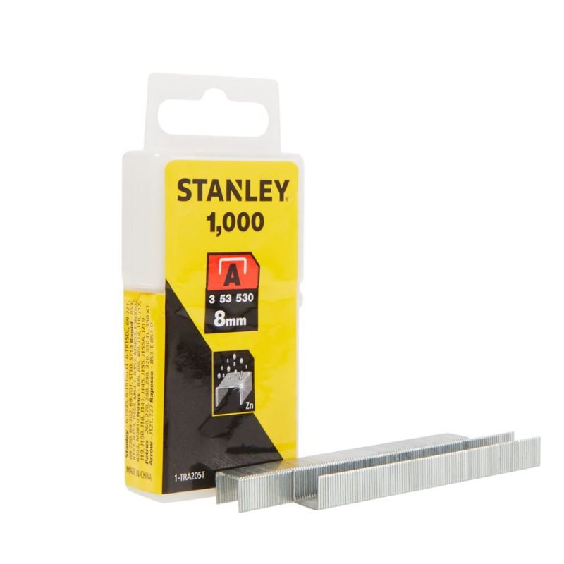 Stanley A 8mm Staples