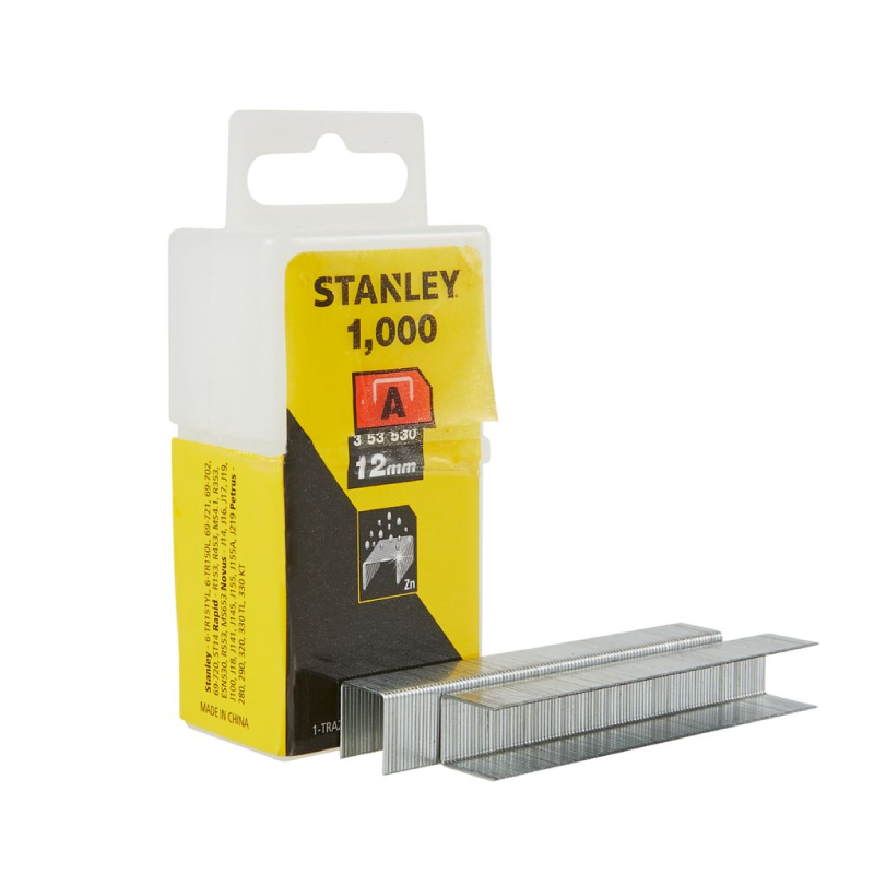 Stanley A 12mm Staples