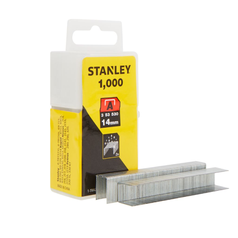 Stanley A 14mm Staples