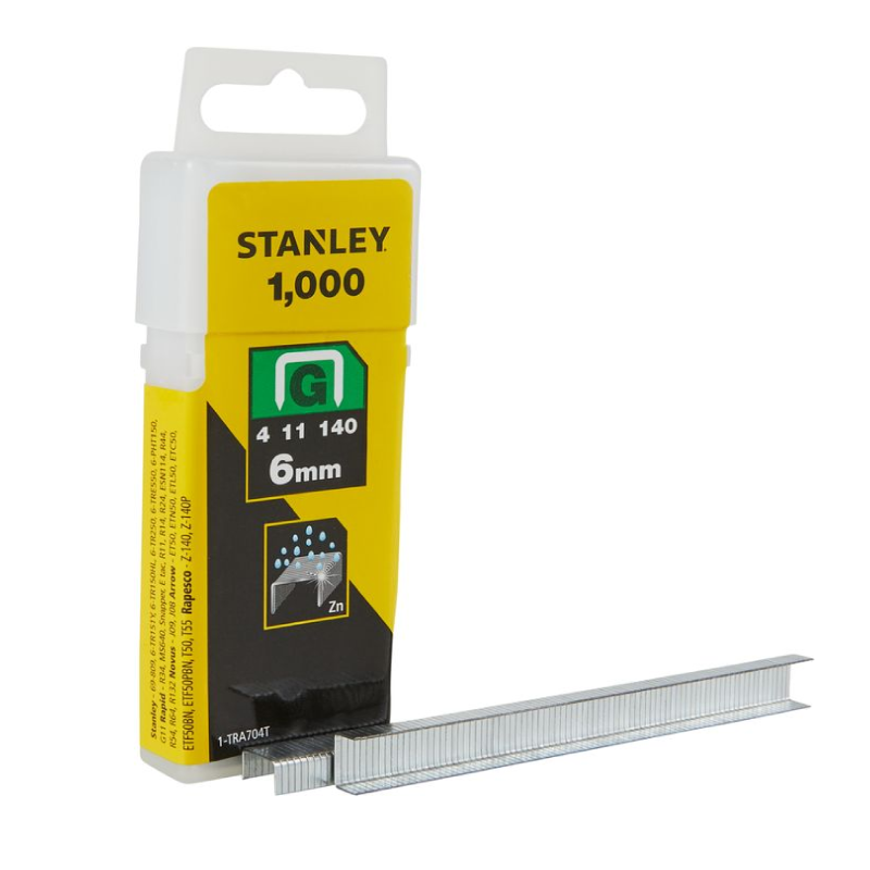 Stanley G 6mm Staples