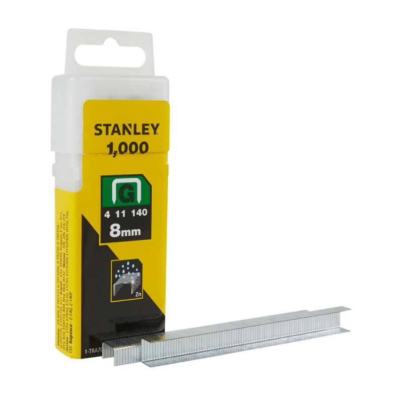 Stanley G 8mm Staples
