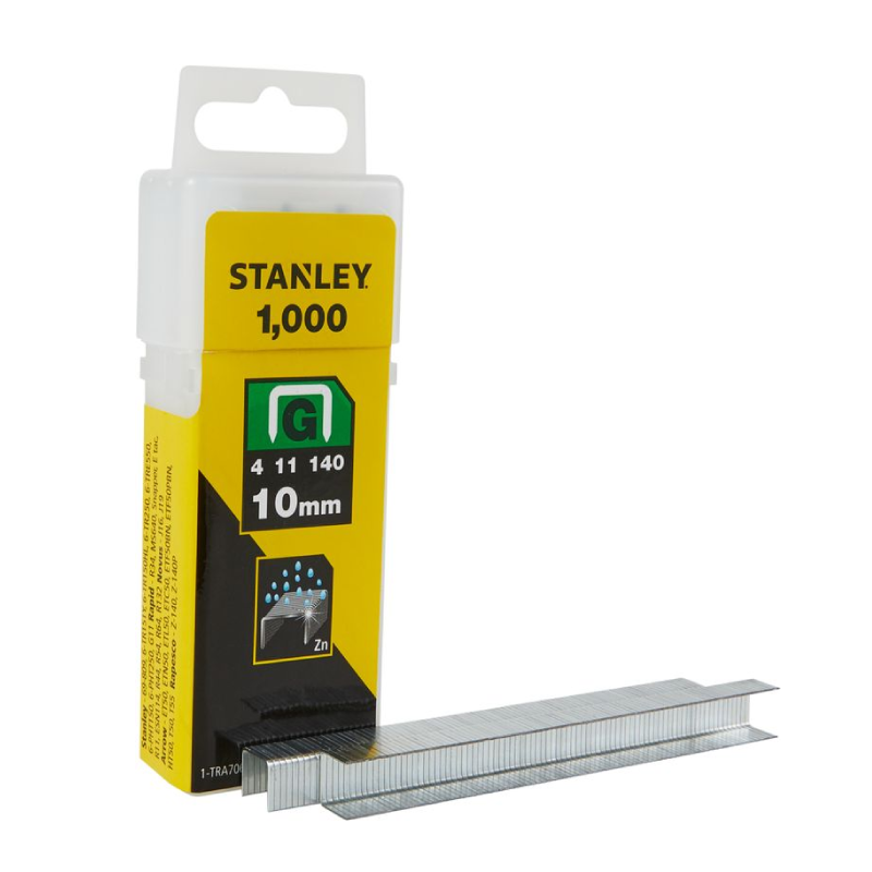 Stanley G 10mm Staples