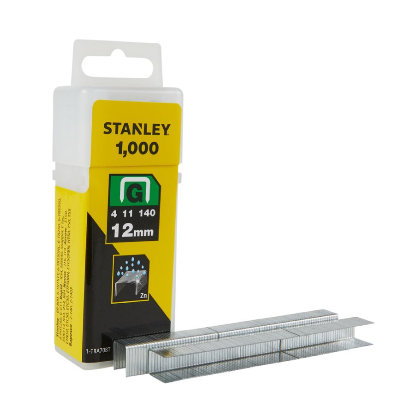 Stanley G 12mm Staples