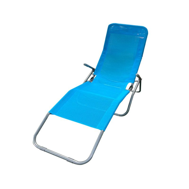 Vita Blue Folding Garden Chair