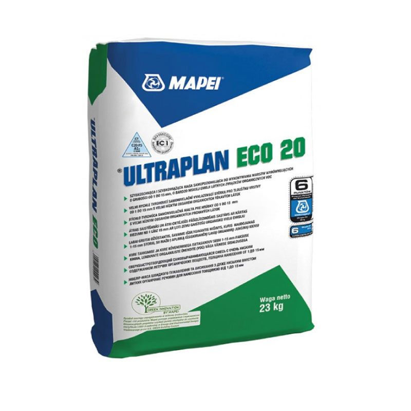 Mapei Ultraplan Eco 20 23kg Self Leveling Compound