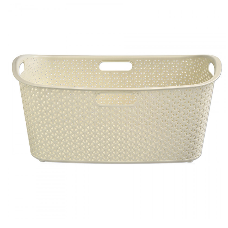 Curver My Style 49L White Laundry Bins & Baskets