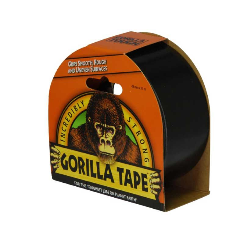 Gorilla 11m Black Duct Tape