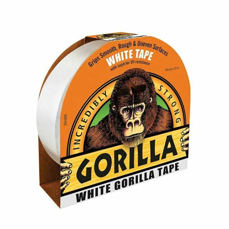 Gorilla 27m White Duct Tape
