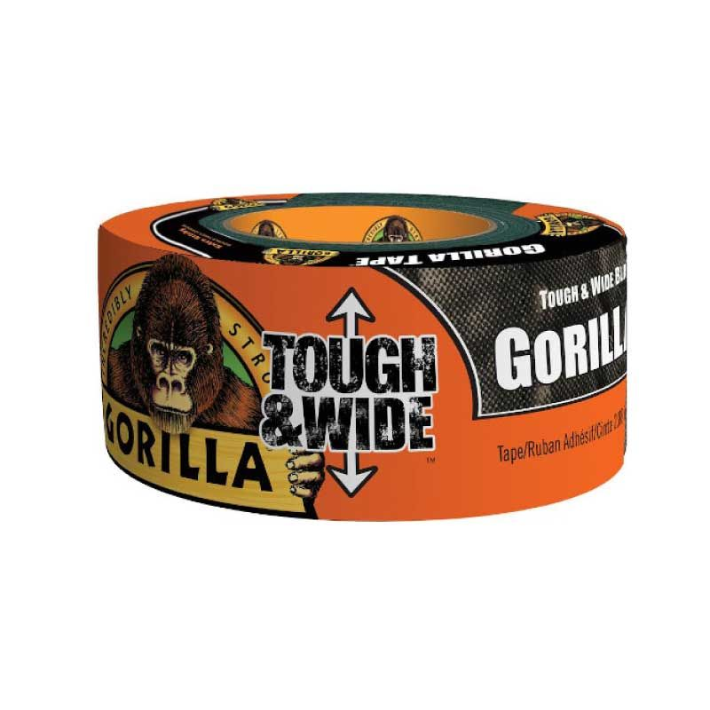 Gorilla 27m Tough & Wide Black Repair Tape