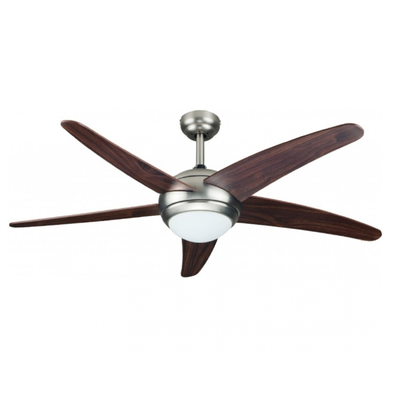 "Matestar MAT-52WA/CH 52"" Metal Ceiling Fan + Lamp"
