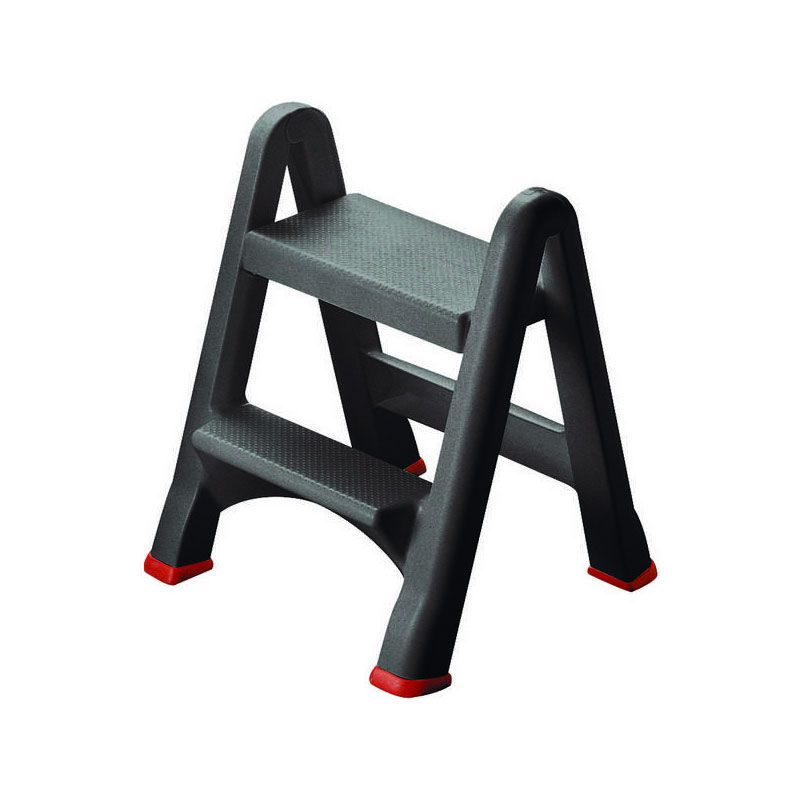 Curver 49x17x63 Anthracite Foldable Step Stool