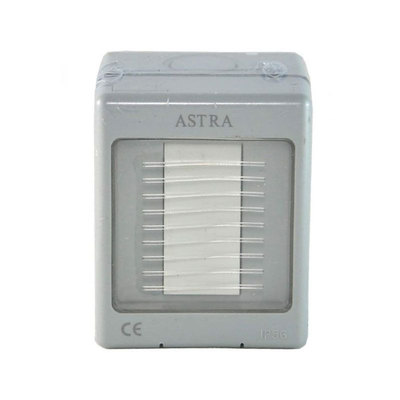 Astra 1-Gang 2-Way Grey Light Outdoor Switch